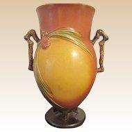 Roseville Pottery Pinecone Vase 10 Inch LARGE