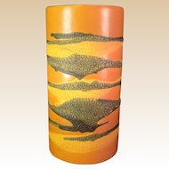 MID-Century ModernRoyal Haeger   Earth Wrap PROTOTYPE Vase ONE OF A KIND.