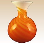 Large-Vase- Murano  -Art Glass-Mid Century- By CARLO MORETTI