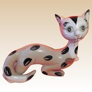 RETRO KITTY Sculpture Signed ITALY With Makers Label