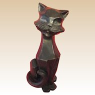 Sculpture- Kitten-Mid Century Modern-Chicago Statuary