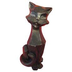 Sculpture- Kitten-Mid Century Modern-Chicago Statuary