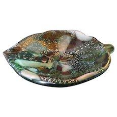 Large Dino Martens-Bowl-Murano Art Glass-Mid Century Modern-
