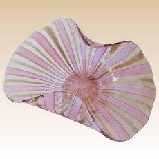 Large Bowl-Zanfirico /Cannes-Murano-Mid Century-Art Glass