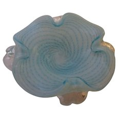 Large Bowl-Murano Art Glass -Mid Century Modern