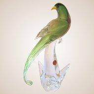 Sculpture-Murano- Formia-Bird Of Paradise