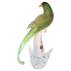 Sculpture-Murano- Formia-Bird Of Paradise