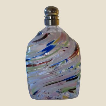 Snuff Bottle- Murano-Art Glass-Mid Century Modern