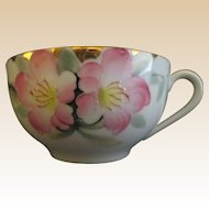 Noritake Ten Porcelain Cups Azalea Pattern