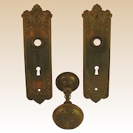 Vintage Door Hardware-Early 1900.s- U.S.A-.Complete Locksets