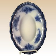 Bowl-Flow Blue -England-Touraine Pattern