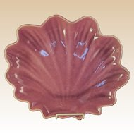 Catalina Pottery Shell-Shaped Dish LARGE DECO MODERN California Beauty