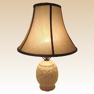 Vintage Alacite Acorn Lamp by ALADDIN With Rare WREATH Finial