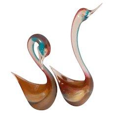 FORMIA Exotic Bird Sculptures-Mid-Century-Modern