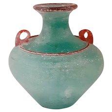 Large SCAVO Vase-Murano Italy