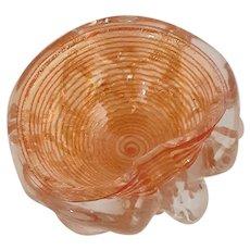 ERCOLE BAROVIER Zebratti Bowl Sculpture-Murano-MCM.