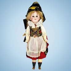 Antique Simon & Halbig 749 Bisque Head Mechanical Doll