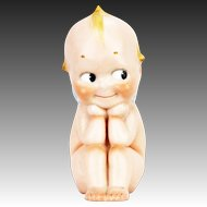 Vintage Large German Rose O'Neill Thinker Kewpie ca1920