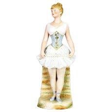 Antique German Large Heubach Ballerina Figurine ca1910