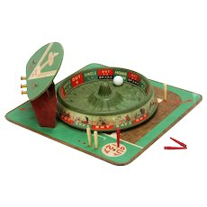 Vintage Pro Baseball Roulette Wheel Game PM Game Co ca1944