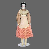 "Antique German China Doll 20"" ca1880"