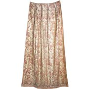 Vintage Fortuny Drapes 4 Fabric Curtain Panels