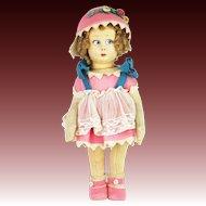 Vintage Cloth Lenci Doll ca1920
