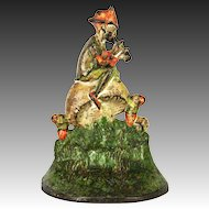 Antique Pied Piper Cast Iron Door Stop