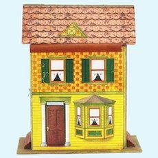 Antique Ta-Ka-Part Dollhouse ca1910