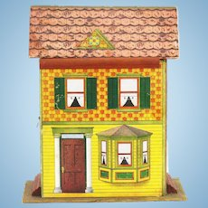 Antique Ta-Ka-Part Dollhouse ca1910