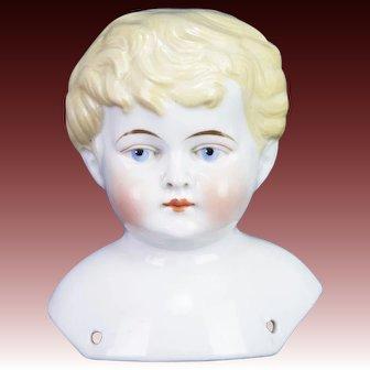 Antique German China Doll Head