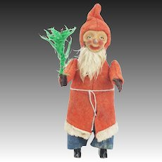 Vintage Schuco Wind Up Santa ca1920