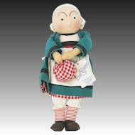 Vintage Becassine Georgene Doll in Original Box ca1930