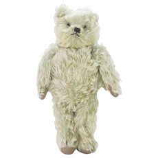 Vintage Rare Helvetica Musical Bear Faded Mint Green ca1920