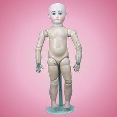 "Antique German Kestner 14 Bisque Head Doll 22"" ca1900"