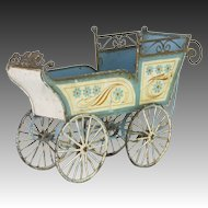 Antique Marklin Doll Carriage ca1900