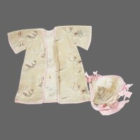 Vintage Printed Doll Clothing Little Bo Peep ca1920