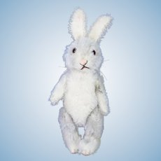 Vintage US Zone Steiff White Bunny Rabbit