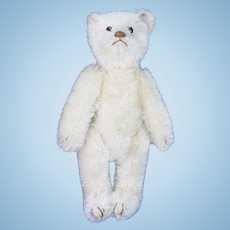 Vintage German Steiff White Bear ca1920