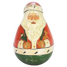 Antique Schoenhut Roly Poly Santa ca1915