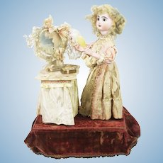 Antique French Jumeau Musical Automation Doll by Lambert ca1890