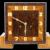 Vintage European Art Deco Mantel Clock ca1925
