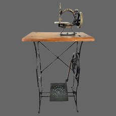 Antique Ideal Child's Treadle Sewing Machine