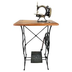 Antique Ideal Child's Treadle Sewing Machine