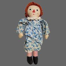 Vintage Georgene Raggedy Ann Doll ca1940