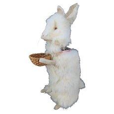 Antique German Wind Up Clockwork Bunny Rabbit Nodder ca1910