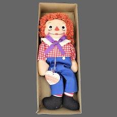 Vintage Georgene Raggedy Andy Doll ca1951