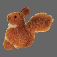 Antique Steiff Wooly Pom Pom Squirrel ca1910