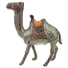 Antique Cast Iron Camel Still Bank A.C. Williams