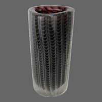 Vintage Modern European Art Glass Vase ca1950